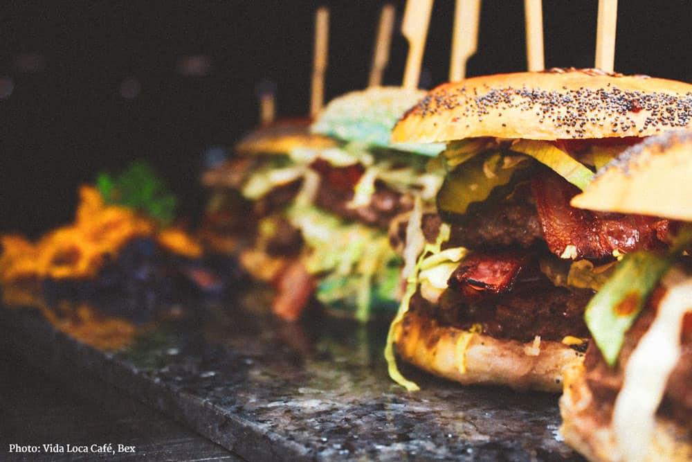 Hamburger Vida Loca Café
